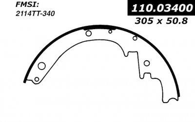 cen111 03400 broms band cen brake shoes-1961