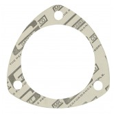 MRG1204 Mr. Gasket - 1204 - Collector Gasket - 3.00 in - Triangle - Performance Material