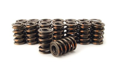 COM988-16 Comp Cams Valve Springs, Dual, 1.384 in. Outside Diameter, 230 lbs./in. Rate, 1.000 in. Coil Bind Height, Set of 16