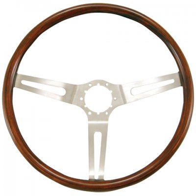 "GRA930 Classic GM, Corvette Diameter14 1/2"" Color Walnut"