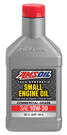 AMS-ASEQT 10W-30 Synthetic Small Engine Oil Commercial Grade