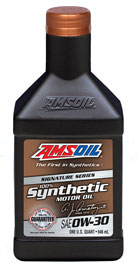 AMS-AZOQT AMS OIL Signature Series 0W-30 Synthetic Motor Oil