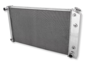 FROFB133 1963 - 67 GM Frostbite Aluminum Radiator- 3 Row  L6/V8 equipped with