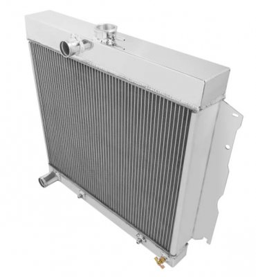 FROFB142 FROSTBITE ALUMINUM RADIATOR- 3 ROW 1966-1969 Dodge/Plymouth L6/V8 (4.5L/5.2L/5.9L/6.3L/7.0L/7.2L) (3-Row) equipped with