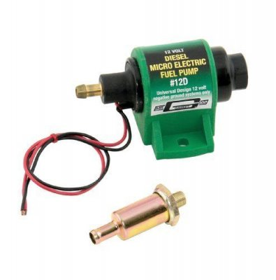 MRG12D Diesel Electric Fuel Pump (Micro) - 4 PSI / 7 PSI - 35 GPH -  Transfer Pump