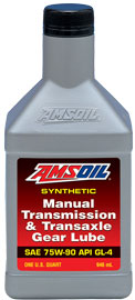 AMS-MTGQT Manual Transmission & Transaxle Gear Lube 75W-90 Formulated specifically for demanding manual transmission and transax