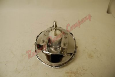 "RPCS3706 9"" Chevy Single Brake Booster Chrome Single"