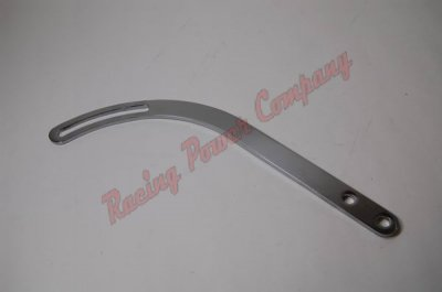 "RPCS9079 Chrome Universal Bracket Arm - 1"" Wide x 14"" Long with 4"" Slot"