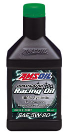 AMS-RD20QT DOMINATOR® 5W-20 Racing Oil 1 QT = 0.946 LITER