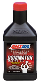 AMS-TDRQT DOMINATOR® Synthetic 2-Stroke Racing Oil