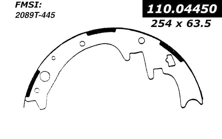 cen110 04450 - brake