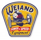 HOL10004WND WEIAND POWER & SPEED EQUIPMENT METAL SIGN 50 * 50 CM
