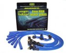 TAY64652 FORD V8 STD LOCK High Energy Ignition Wire Set Custom Fit 8mm Blue