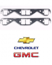 "TAY66012 TAYLOR Header Gaskets Seal-4-Good, Aluminum, Square Port 1.5"" , Chevy, Small Block, Pair."