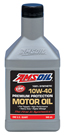 AMS-AMOQT SAE 10W-40 Synthetic Premium Protection Motor Oil 1 QT = 0.946 LITER