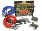 TAY83051 BLACK THUNDERVOLT 8.2mm 90 Deg IGNITION WIRE SETS  Spark Plug Boots.