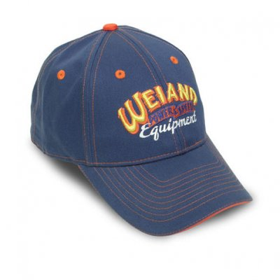 HLY10007WND Weiand blue Cap with Weiand Equipped Logo