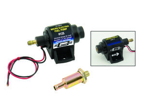 MRG12S Electric Fuel Pump (Micro) - 4 PSI / 7 PSI - 35 GPH - Gasoline - for carburetor
