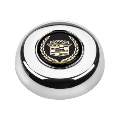GRA5633 Cadillac Gold Crest Chrome