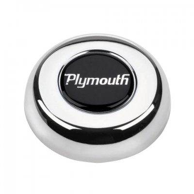 GRA5694 Plymouth Chrome Horn Button