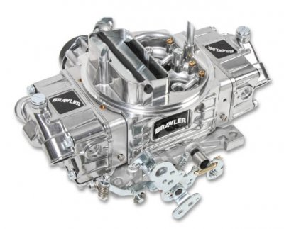 QUIBR-67257 750 DP  Brawler Diecast Carburetor / Electric Choke