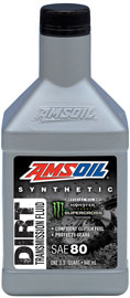 AMS-DBTFQT Synthetic Dirt Bike Transmission Fluid Designed to Improve the Performance of Bike and Rider