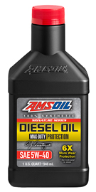 AMS-DEOQT Signature Series 5W-40 Max-Duty Synthetic Diesel Oil