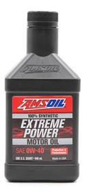 AMS-P400QT Extreme Power 0W-40 100% Synthetic Motor Oil