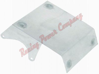 RPCS6077 Satin Aluminum Starter Heat Shield