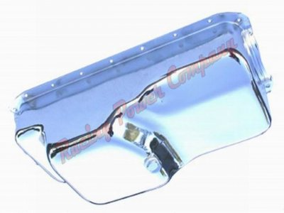 RPCS9344 Chrome Steel 1971-80 Mopar 360 Oil Pan