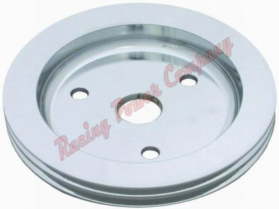 RPCS9481 Aluminum SB Chevy V8 Double Groove Crankshaft Pulley - SWP Lower