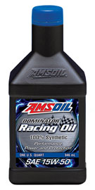 AMS-RD50QT AMS OIL DOMINATOR® 15W-50 Racing Oil 1 QT = 0.946 LITER