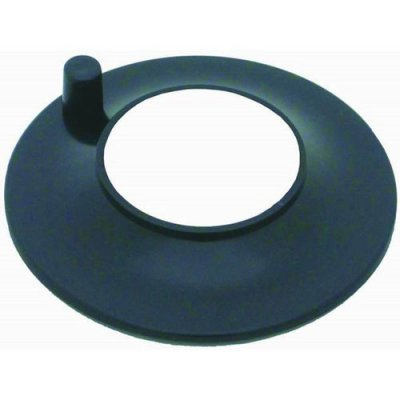 "RPCS2176 Air Cleaner Adapter 5.125"" to 2.625"" Neck Black Plastic"