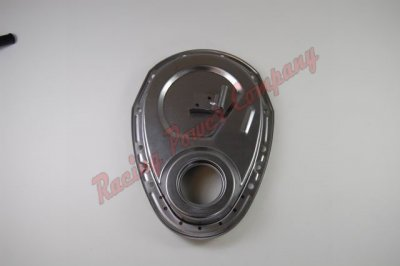 RPCS4934 Chrome Chevy 283-350 Timing Chain Cover