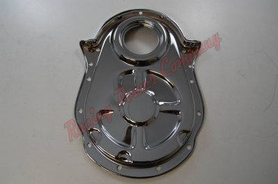 RPCS4935 Chrome Chevy 396-454 Timing Chain Cover