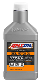 AMS-XLOQT XL 10W-40 Synthetic Motor Oil Boosted Protection For Extended Life